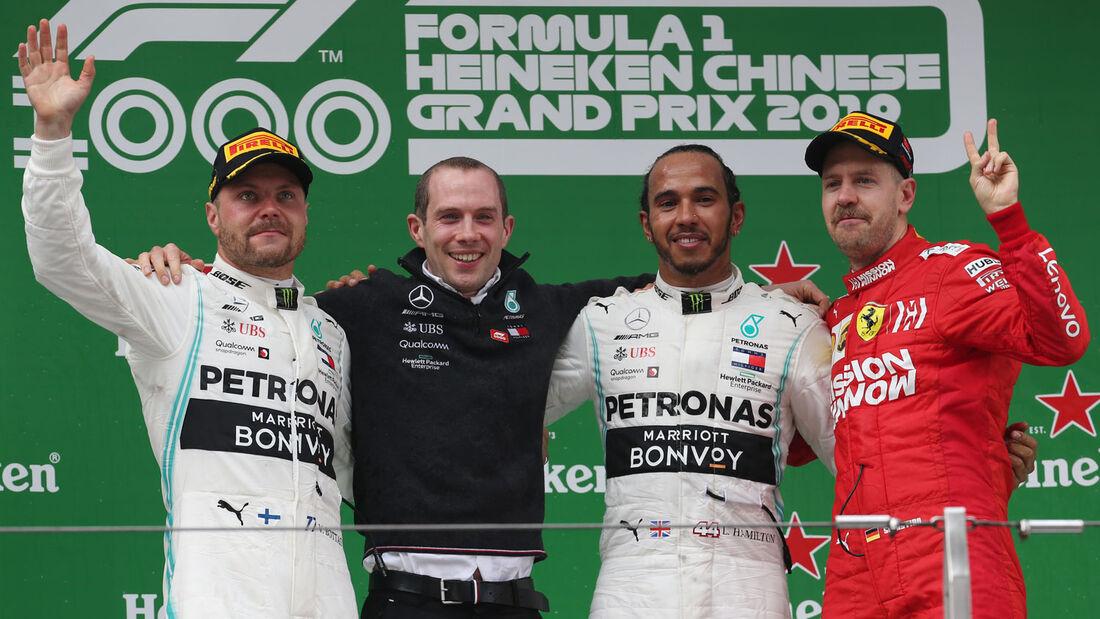 Lewis Hamilton - GP China 2019