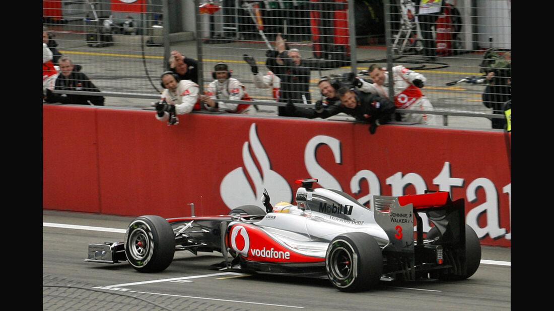Lewis Hamilton GP Deutschland 2011 Noten