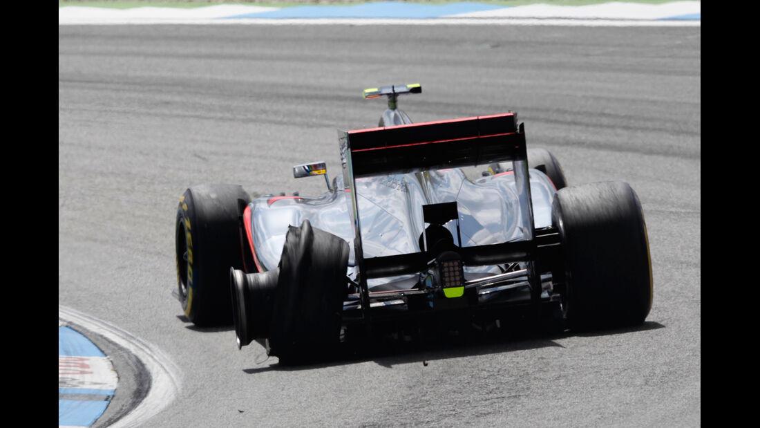 Lewis Hamilton GP Deutschland 2012