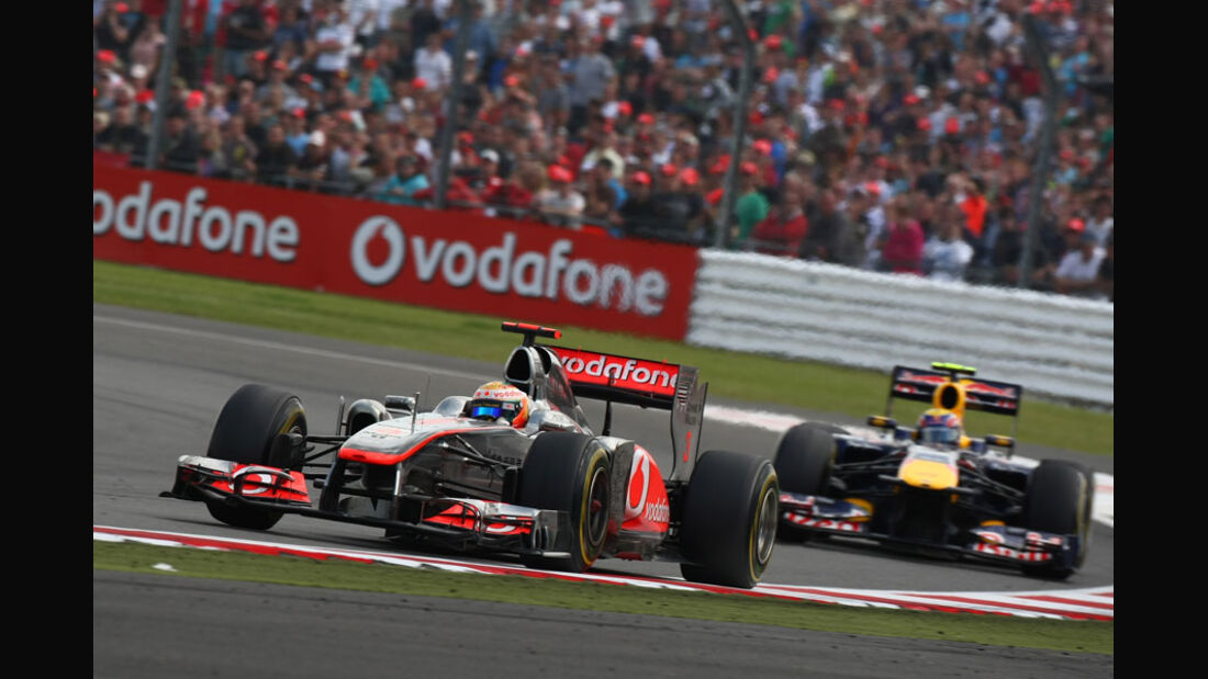 Lewis Hamilton GP England 2011 Rennen