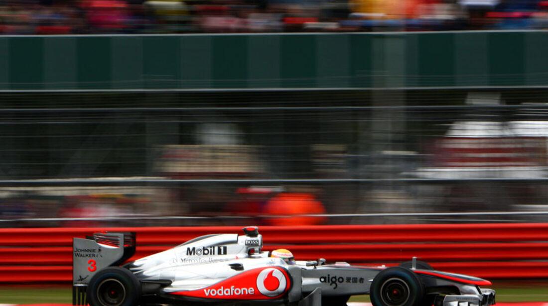 Lewis Hamilton GP England 2011