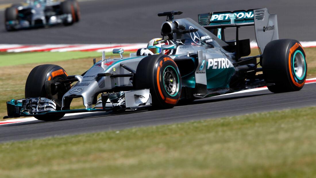Lewis Hamilton - GP England  - 2014