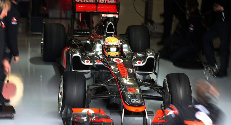Lewis Hamilton - GP England - Training - Silverstone - 8. Juli 2011