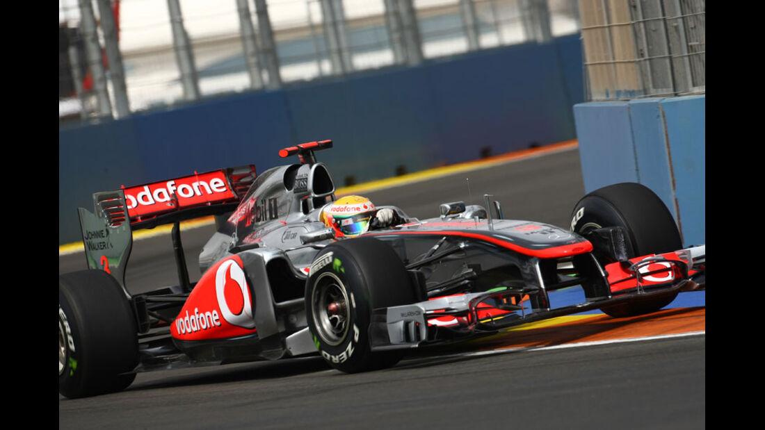 Lewis Hamilton - GP Europa Valencia 2011
