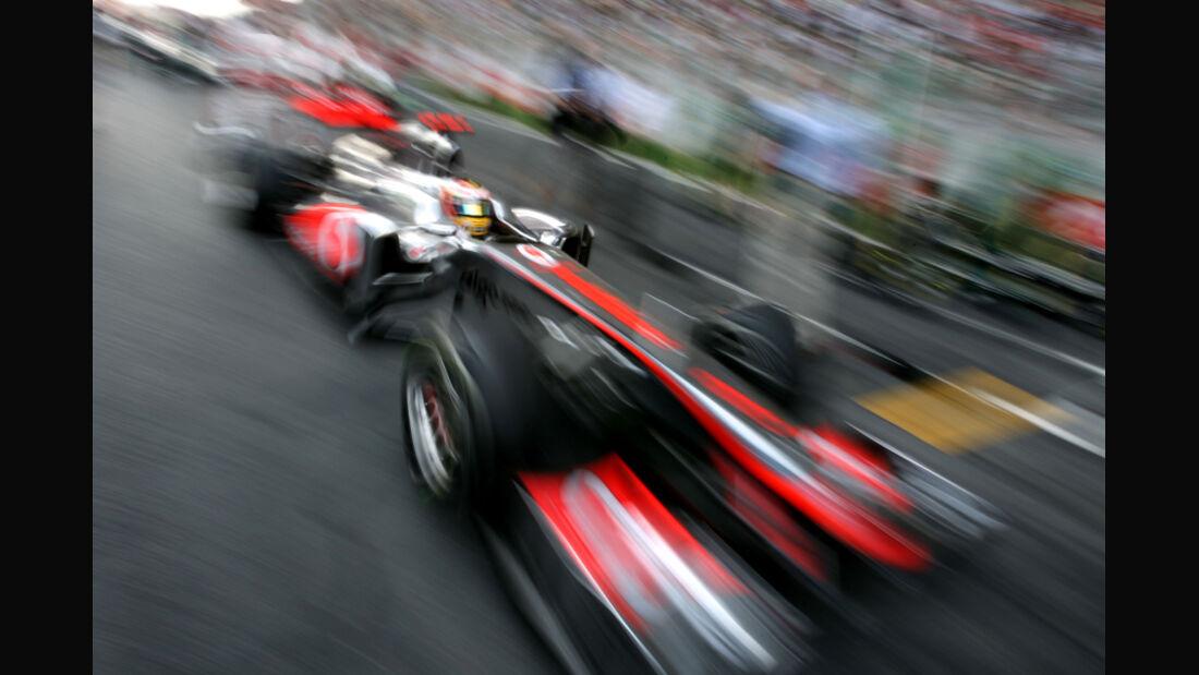Lewis Hamilton GP Indien 2011