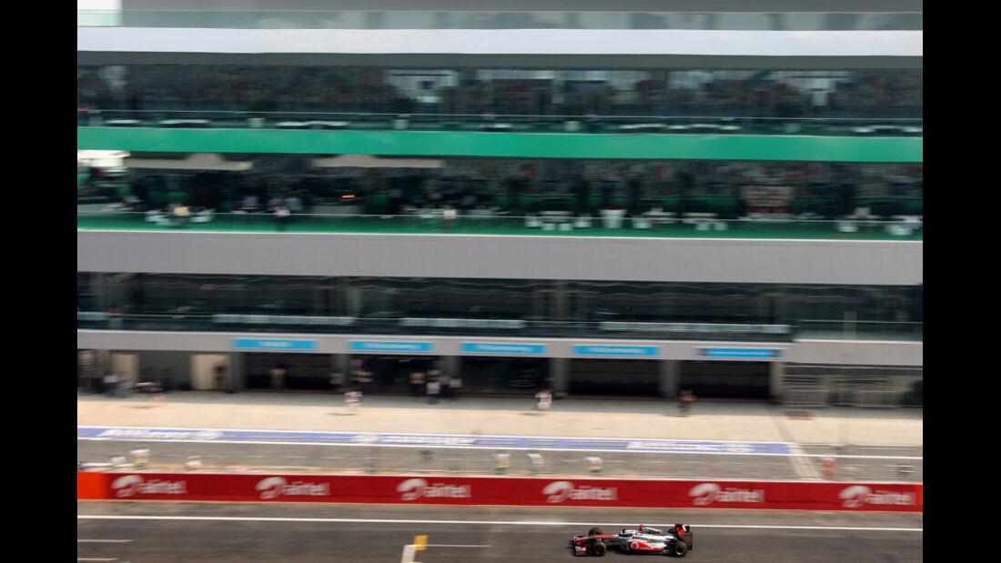 Lewis Hamilton - GP Indien - Training - 28.10.2011