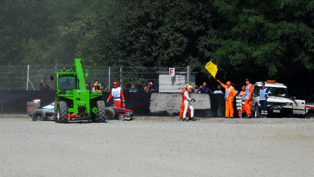 Lewis Hamilton - GP Italien 2010