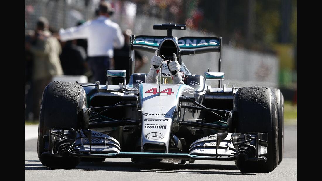 Lewis Hamilton - GP Italien 2015