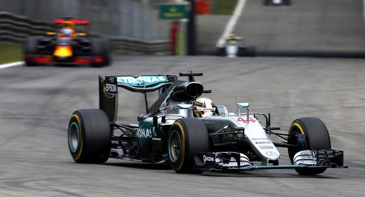 Lewis Hamilton - GP Italien 2016