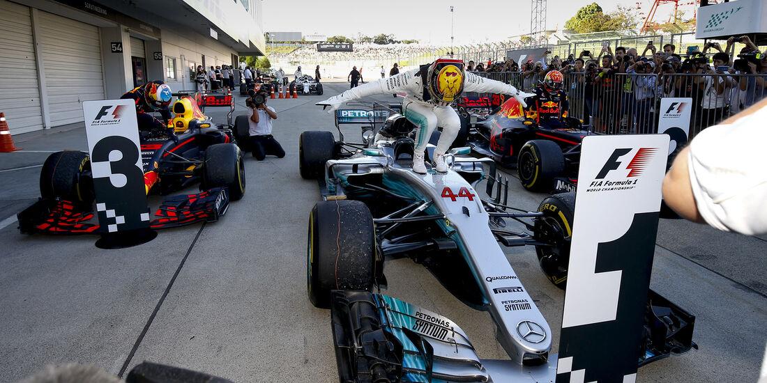 Lewis Hamilton - GP Italien 2017