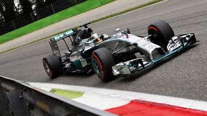 Lewis Hamilton - GP Italien - Formel 1 - 6. September 2014
