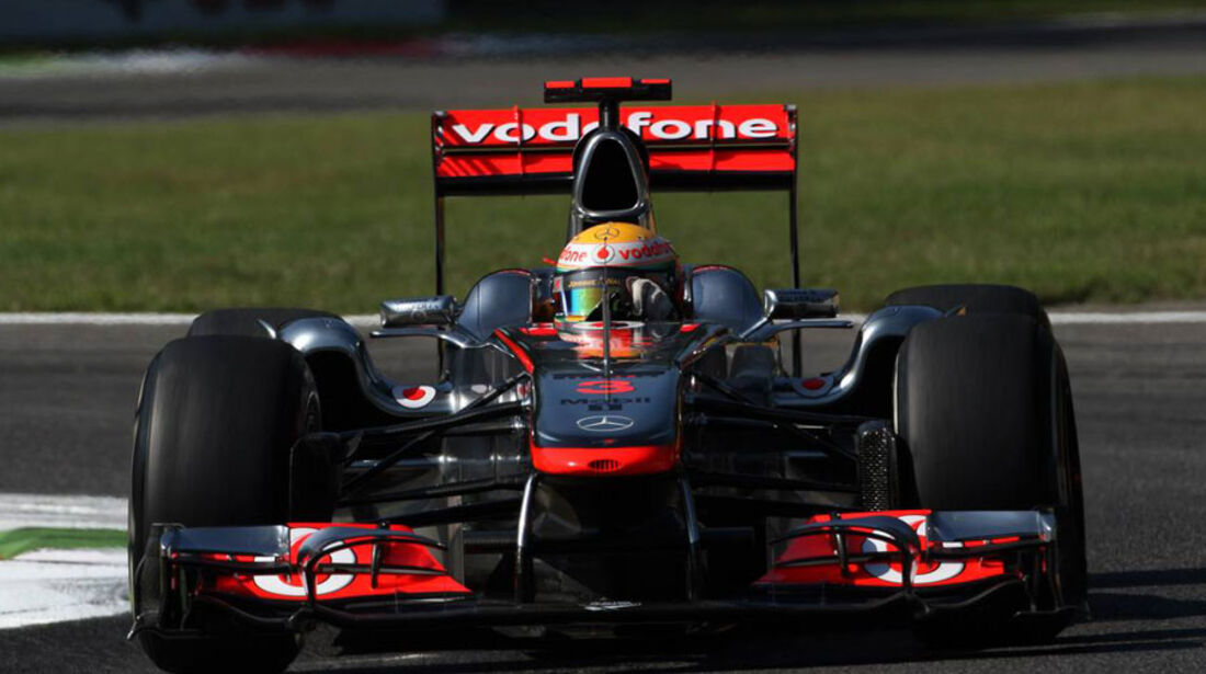 Lewis Hamilton - GP Italien - Monza - 9. September 2011