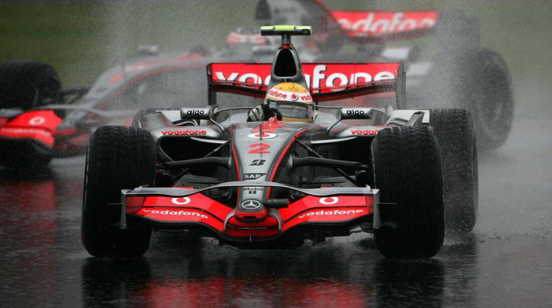Lewis Hamilton GP Japan 2007