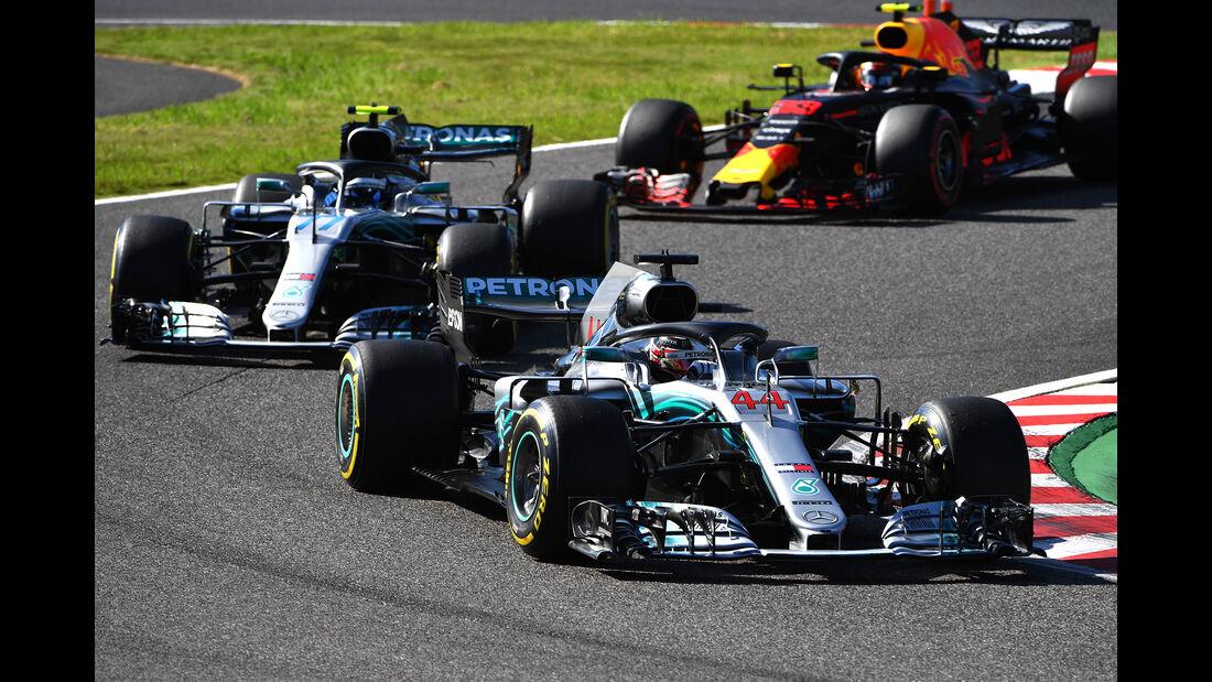 Lewis Hamilton - GP Japan 2018