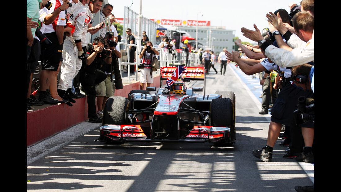 Lewis Hamilton - GP Kanada 2012