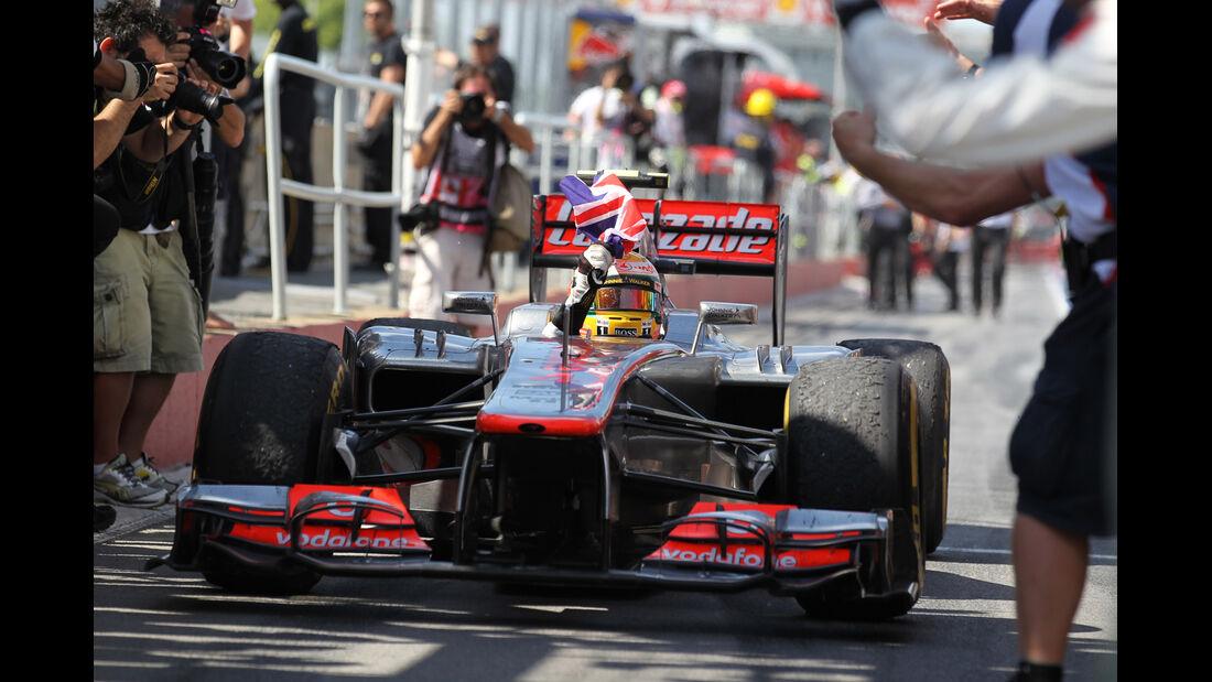 Lewis Hamilton GP Kanada 2012