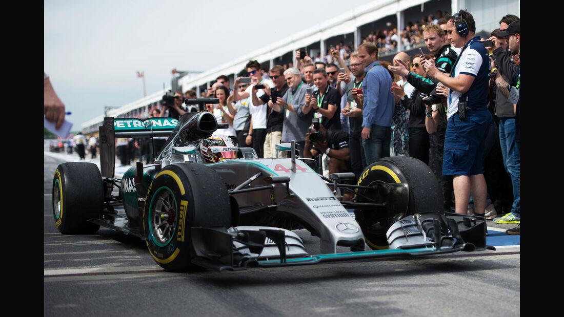Lewis Hamilton - GP Kanada 2015