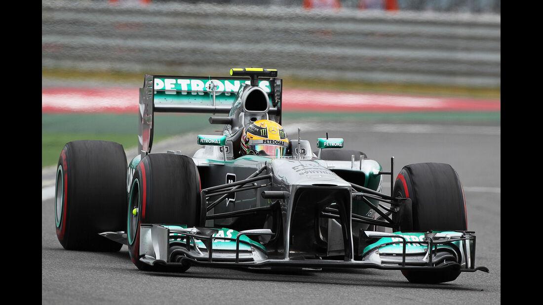 Lewis Hamilton - GP Korea 2013