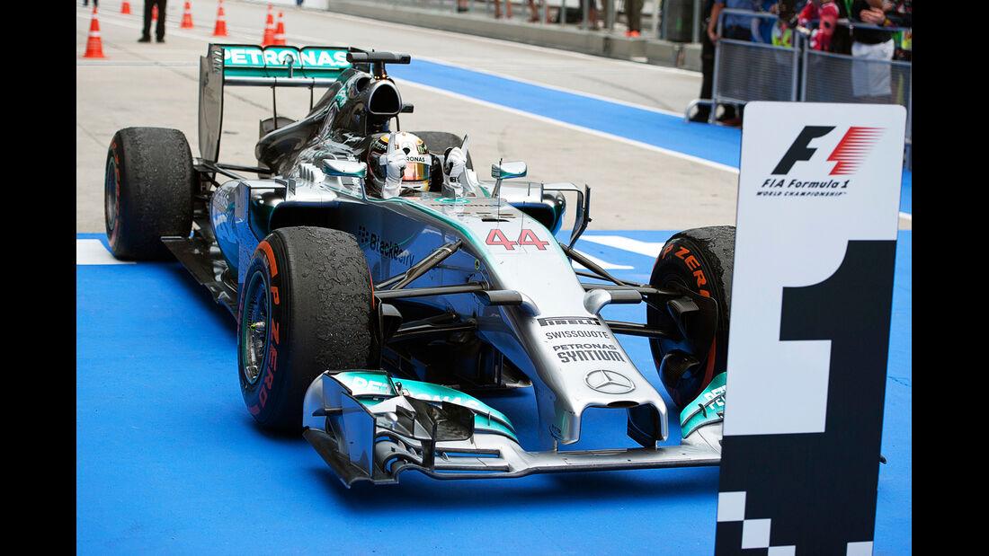 Lewis Hamilton - GP Malaysia 2014