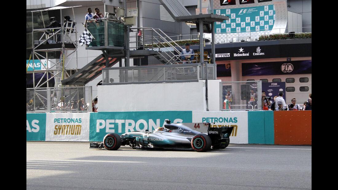 Lewis Hamilton - GP Malaysia 2017