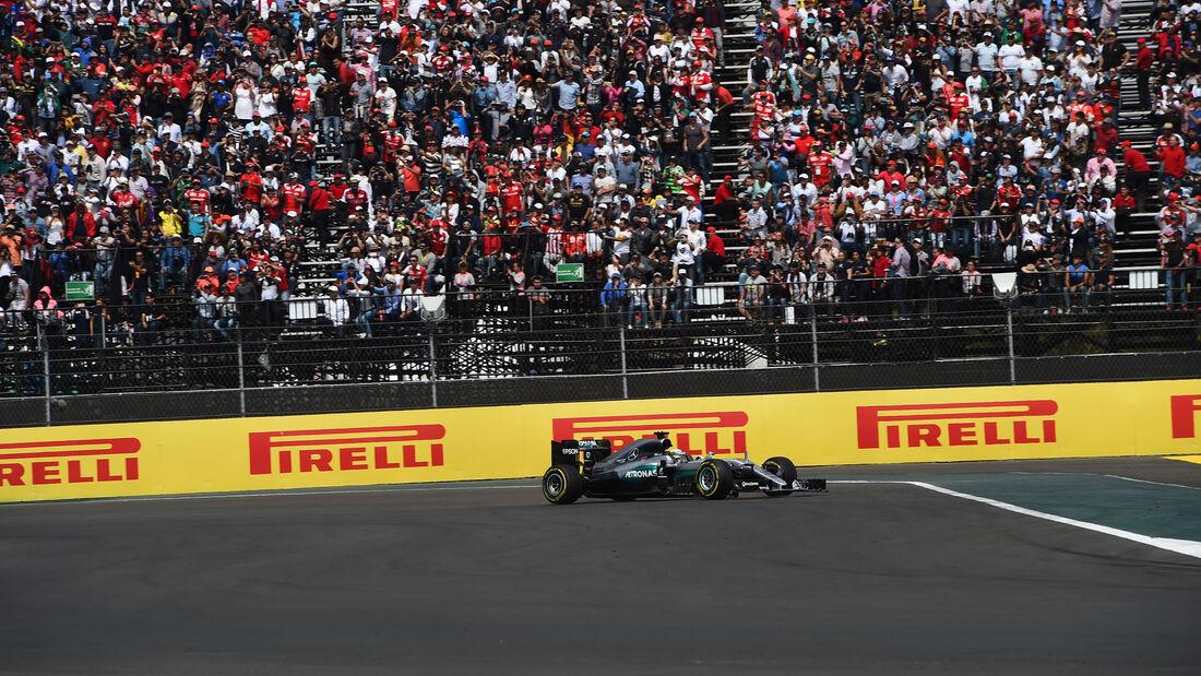 Lewis Hamilton - GP Mexiko 2016 - Start