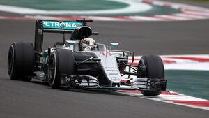 Lewis Hamilton - GP Mexiko 2016
