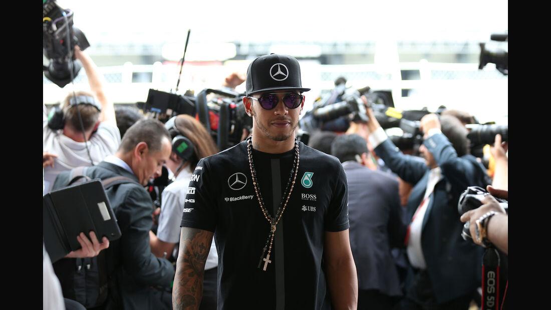 Lewis Hamilton - GP Mexiko  - Formel 1 2015