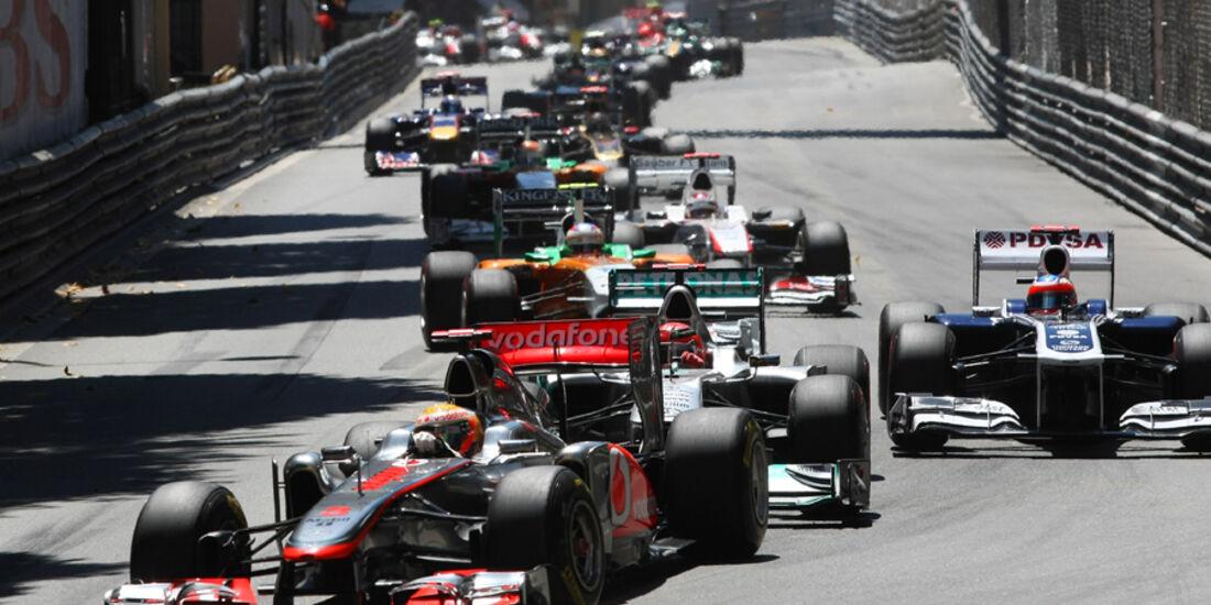 Lewis Hamilton GP Monaco 2011