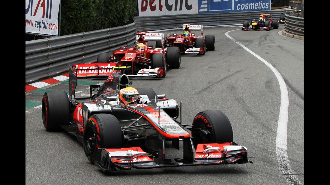 Lewis Hamilton - GP Monaco 2012