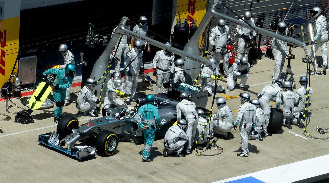 Lewis Hamilton - GP Österreich 2014