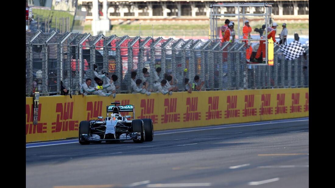 Lewis Hamilton - GP Russland 2014