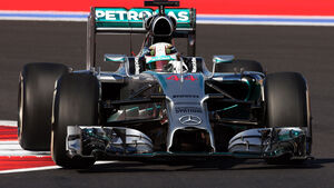 Lewis Hamilton - GP Russland - 2014