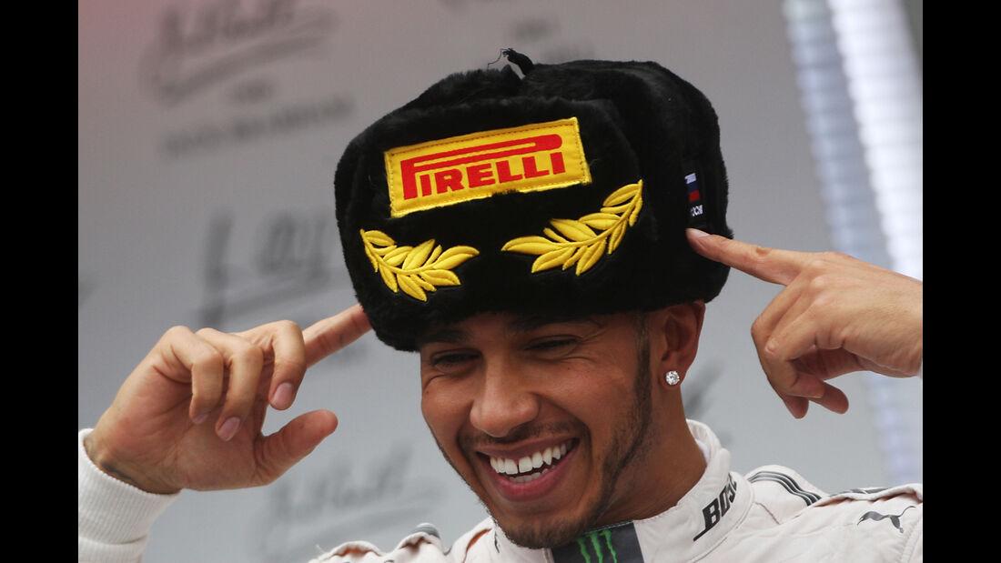 Lewis Hamilton - GP Russland 2015