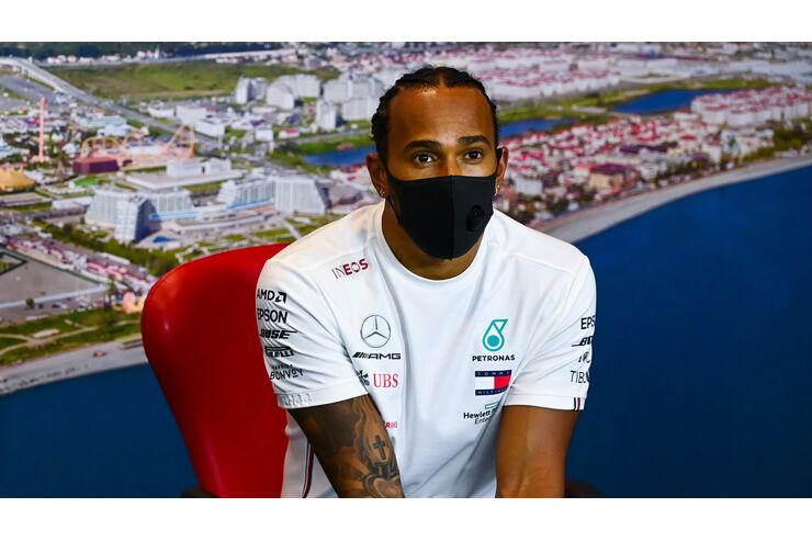 """Lewis Hamilton vor Schumi-Rekord: """"Gibt wichtigere Themen"""""""
