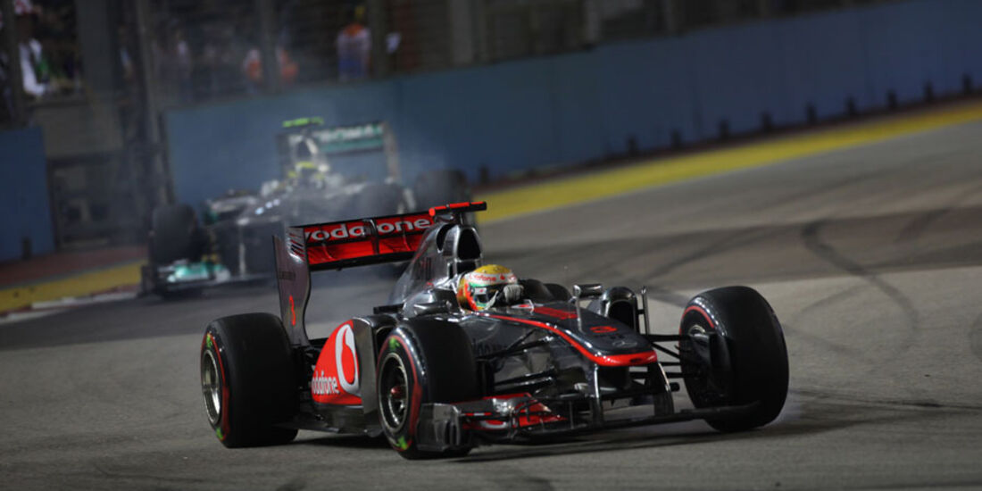 Lewis Hamilton GP Singapur 2011