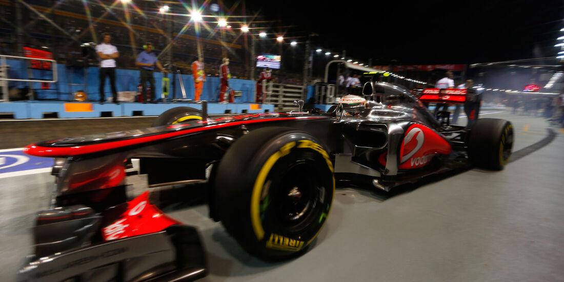 Lewis Hamilton GP Singapur 2012
