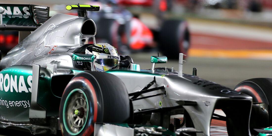 Lewis Hamilton - GP Singapur 2013