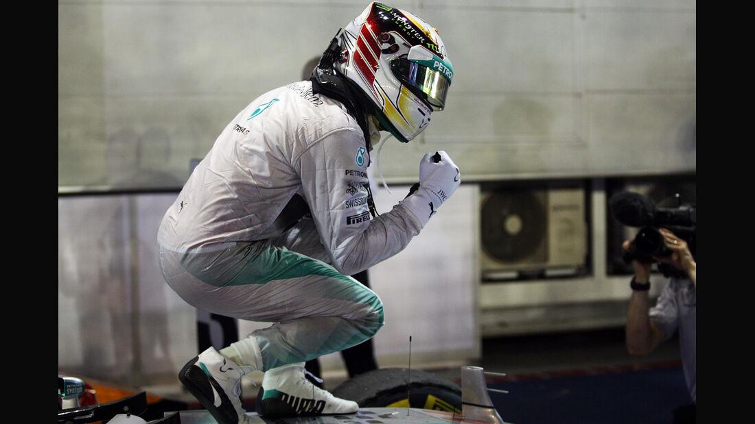 Lewis Hamilton - GP Singapur 2014