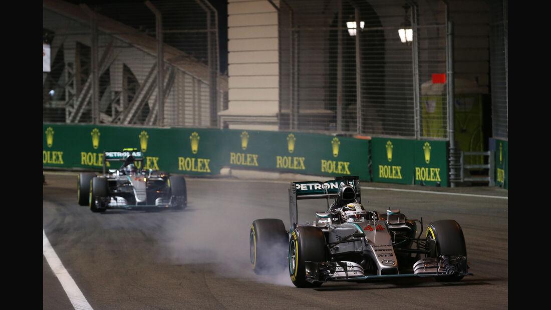 Lewis Hamilton - GP Singapur 2015