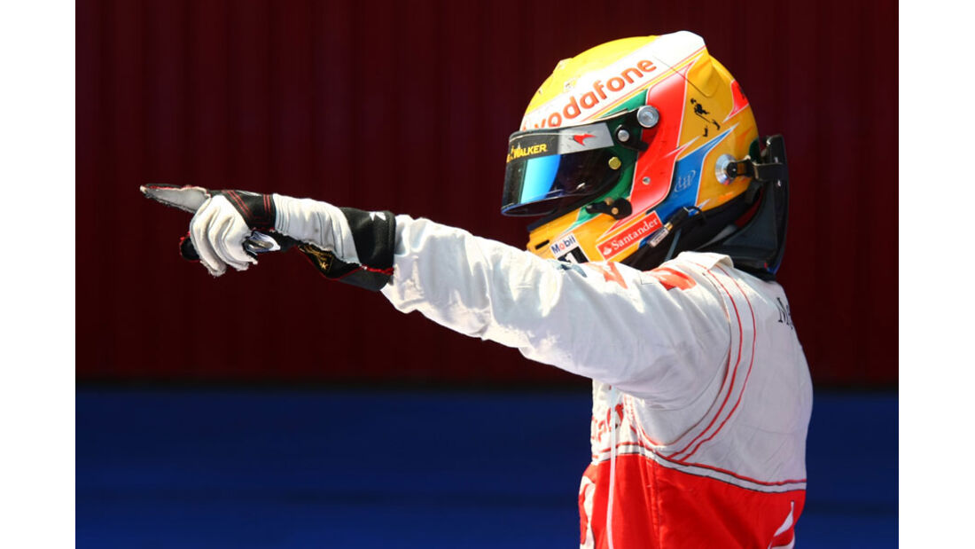 Lewis Hamilton GP Spanien 2011