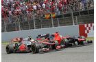 Lewis Hamilton GP Spanien 2012