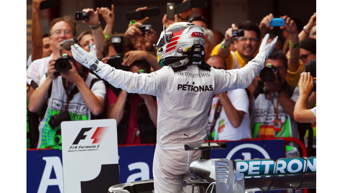 Lewis Hamilton - GP Spanien 2014