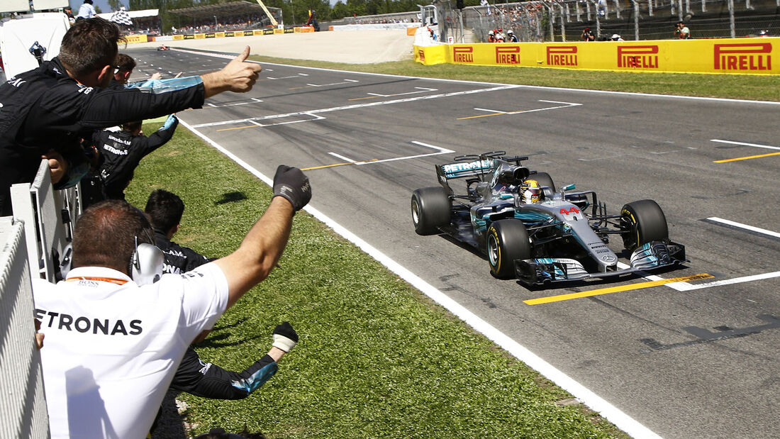 Lewis Hamilton - GP Spanien 2017