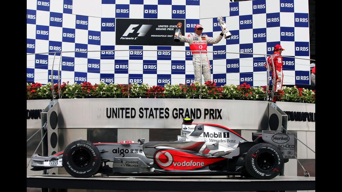 Lewis Hamilton - GP USA 2007