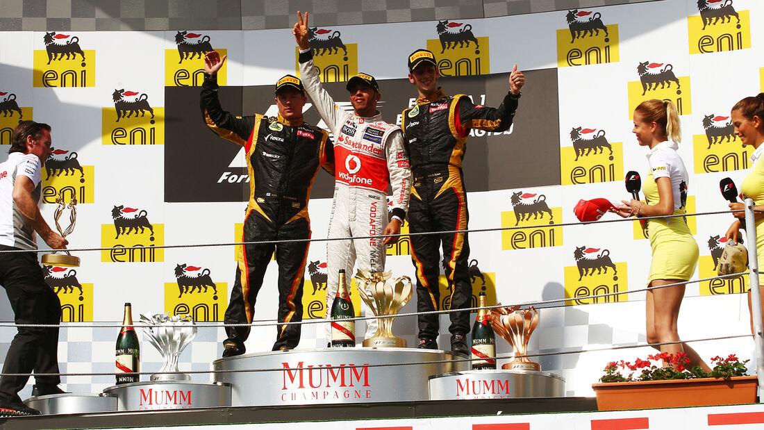 Lewis Hamilton - GP Ungarn 2012