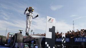 Lewis Hamilton - GP Ungarn 2013