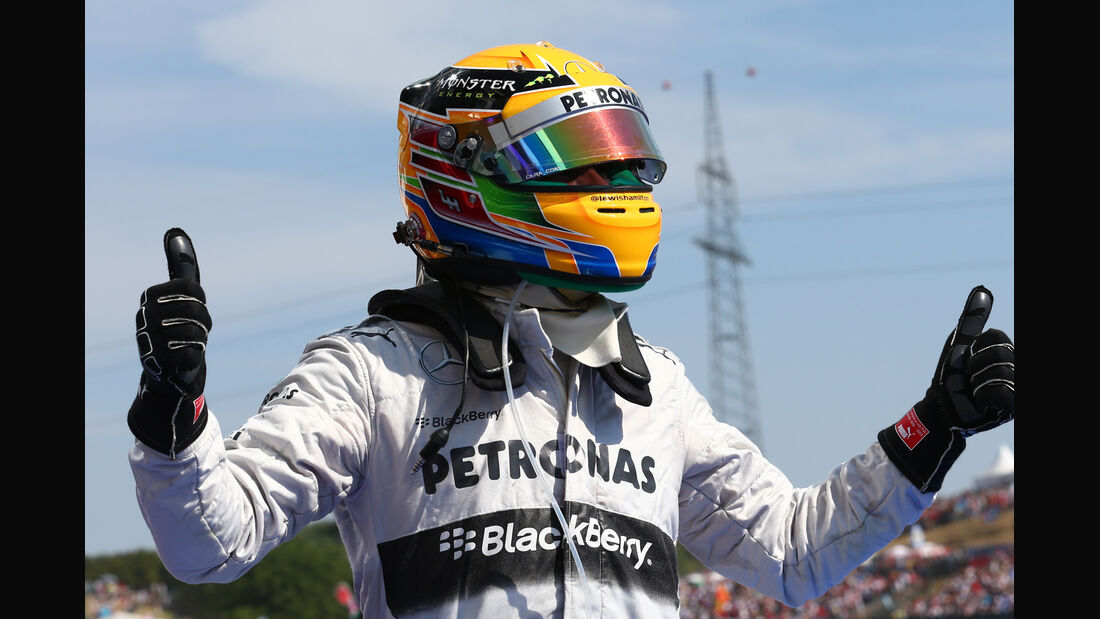 Lewis Hamilton GP Ungarn 2013