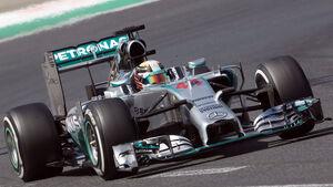 Lewis Hamilton GP Ungarn 2014 Formel 1
