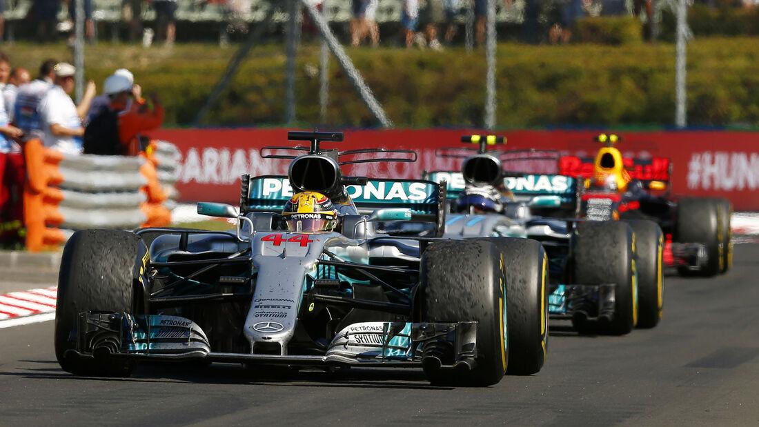 Lewis Hamilton - GP Ungarn 2017