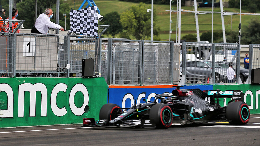 Lewis  Hamilton - GP Ungarn 2020